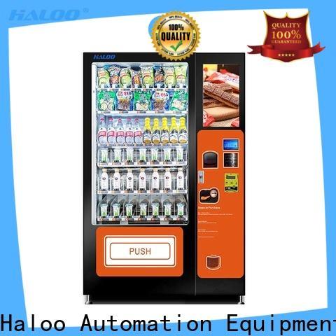 Haloo convenient toy vending machine wholesale for fragile goods