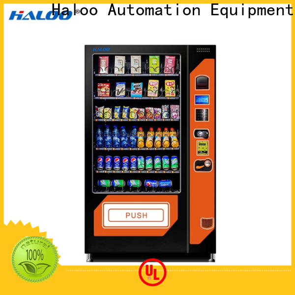 Haloo combo vending machines design for snack