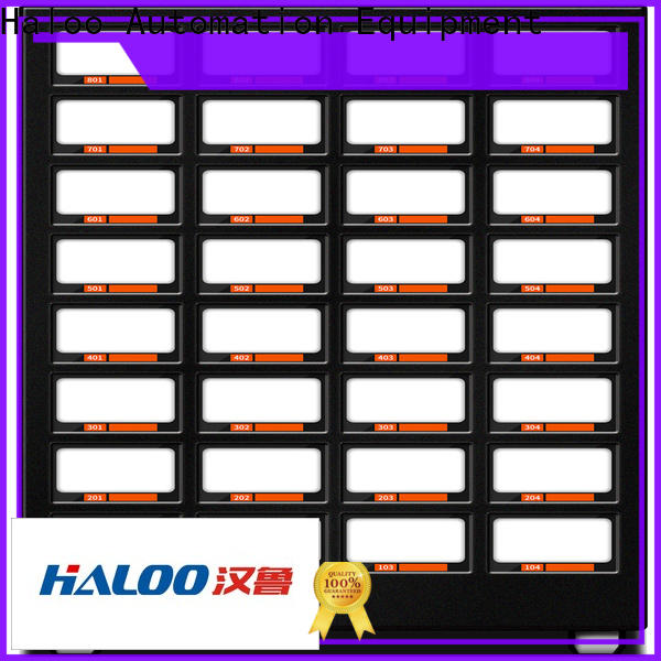 Haloo convenient condom machine factory direct supply for shopping mall