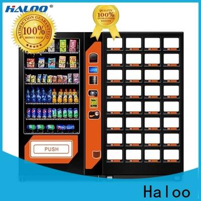 Haloo soda snack vending with good price for drink