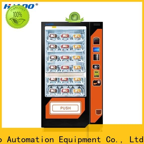 Haloo canteen vending factory for red wine