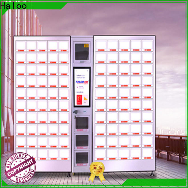 Haloo power-off protection healthy vending machine snacks series for drinks