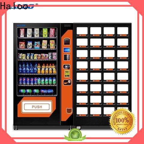 Haloo new tea vending machine customized for food