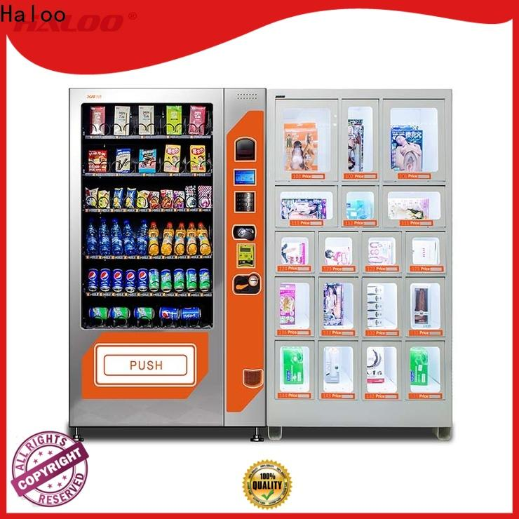 Haloo automatic condom dispenser wholesale for shopping mall