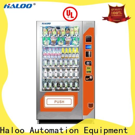 Haloo snack machine design for red wine
