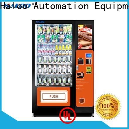 Haloo convenient snack machine manufacturer for fragile goods
