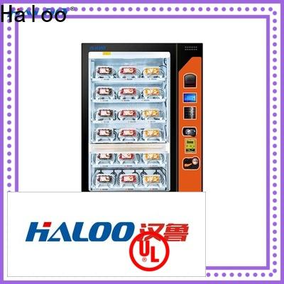 Haloo large capacity toy vending machine manufacturer for red wine