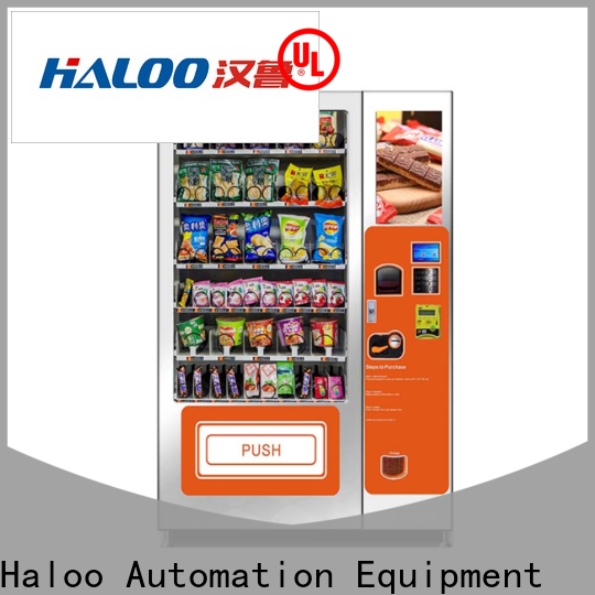 Haloo new cold drink vending machine factory direct supply for food
