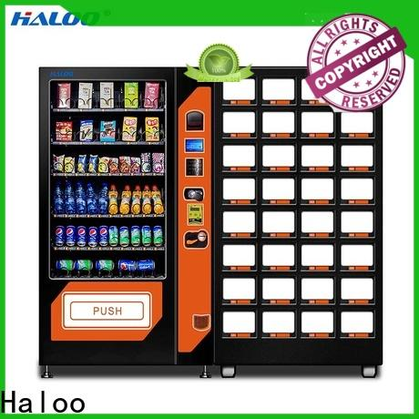 Haloo combo vending machines manufacturer for food