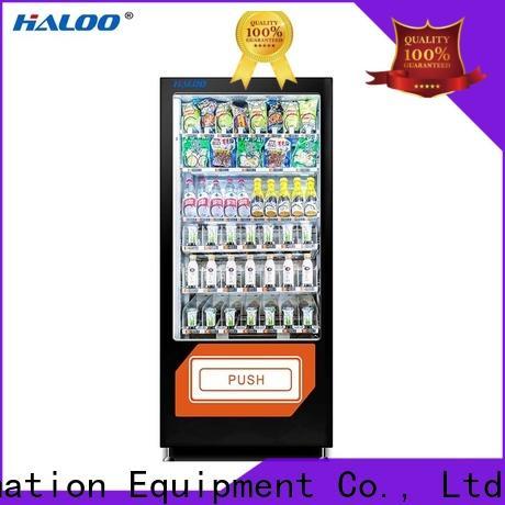 Haloo coke vending machinee design for drinks