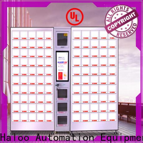 Haloo food vending machines manufacturer for snack