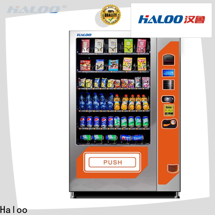Haloo new combo vending machines design for drink