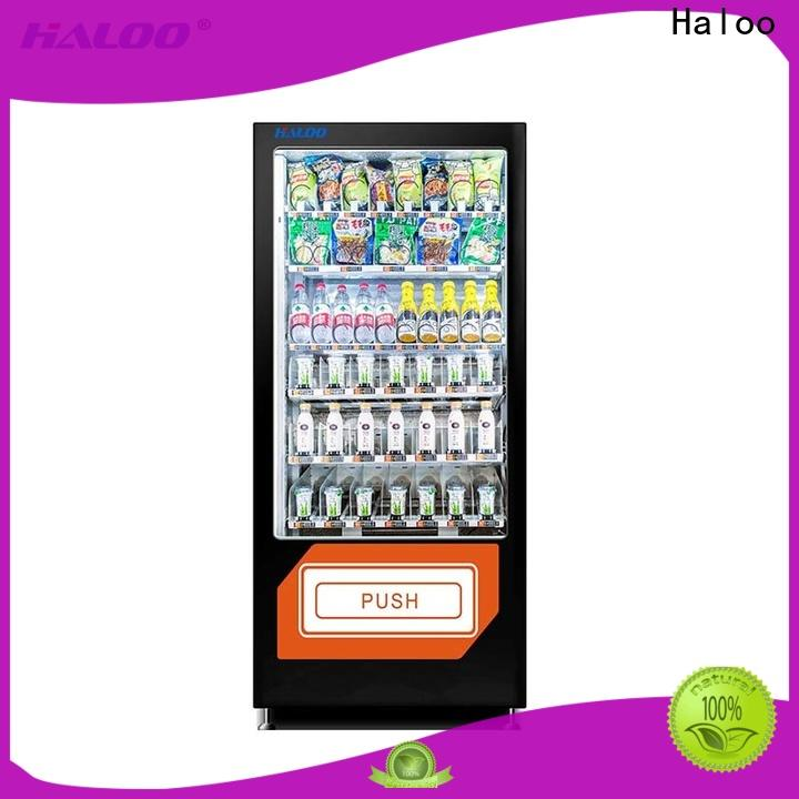 Haloo automatic healthy vending machine snacks wholesale for adult toys