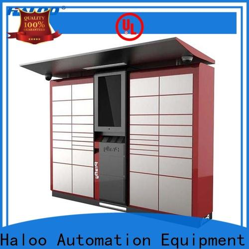 Haloo intelligent lucky box vending machine factory direct supply for garbage cycling