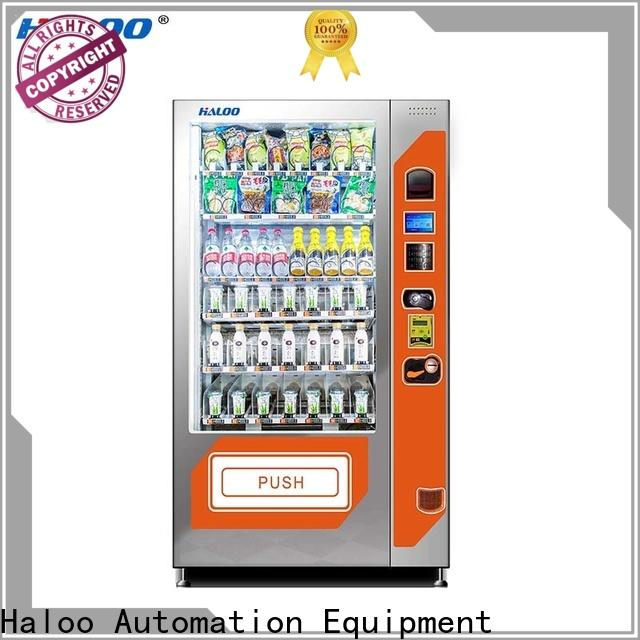 Haloo fruit vending machine design for drinks