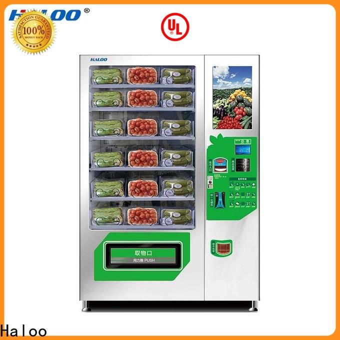 Haloo cool vending machines factory for fragile goods