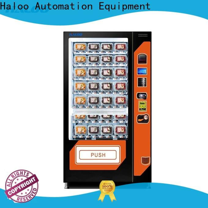 Haloo automatic canteen vending design for red wine