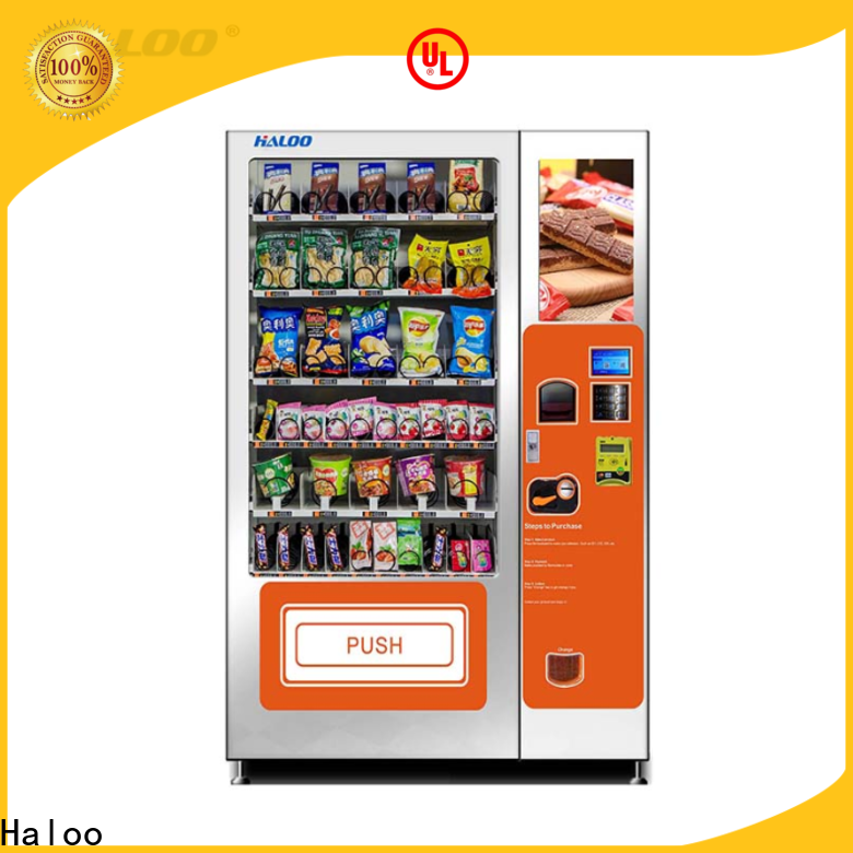 wholesale cold drink vending machine factory direct supply for snack