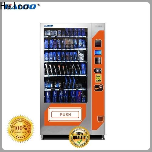Haloo custom chocolate vending machine customized for food