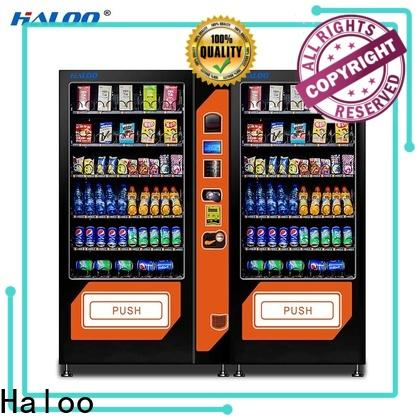 top cold drink vending machine factory direct supply for snack