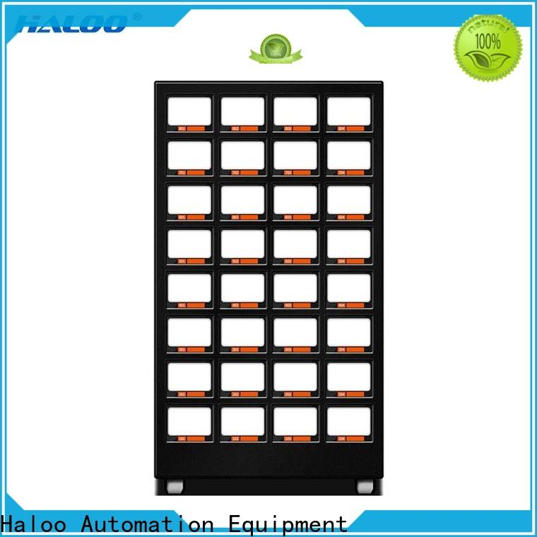 Haloo healthy vending machine snacks supplier for drinks