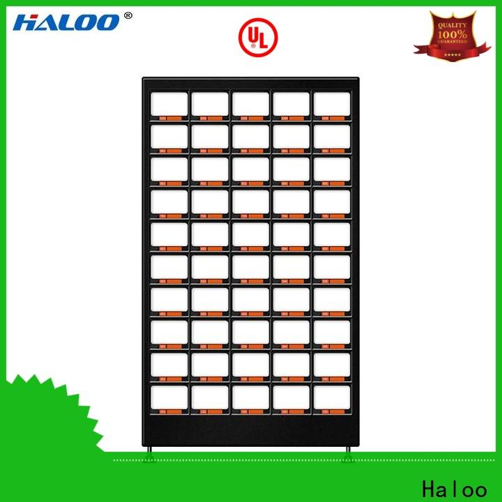 Haloo durable canteen vending manufacturer for drinks