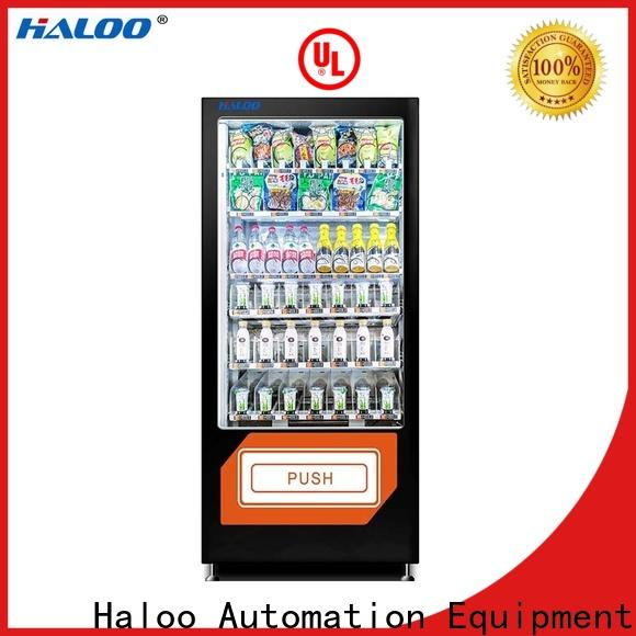 Haloo professional food vending machines series for drinks