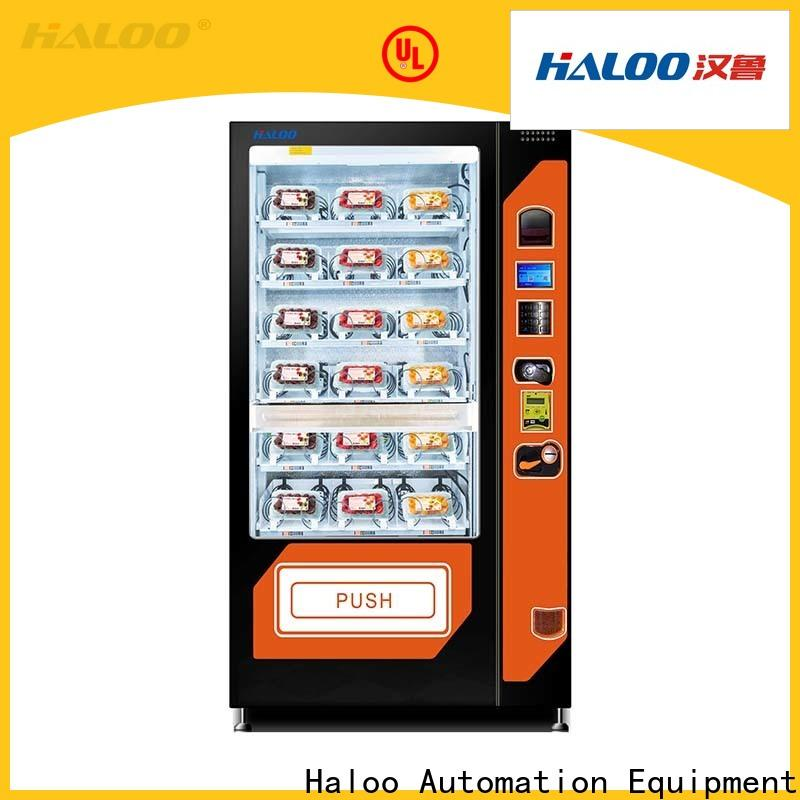 Haloo large capacity sandwich vending machine series for red wine