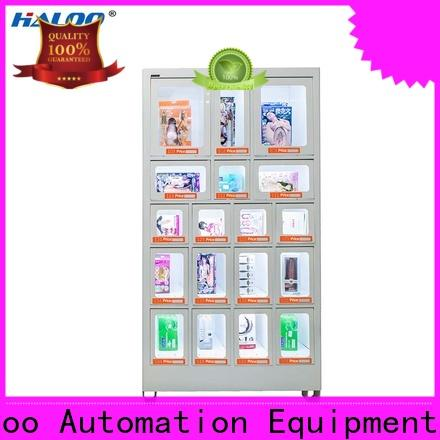 Haloo high capacity healthy vending machine snacks supplier for drinks