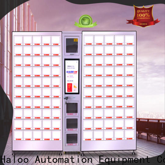 Haloo professional healthy vending machine snacks supplier for drinks