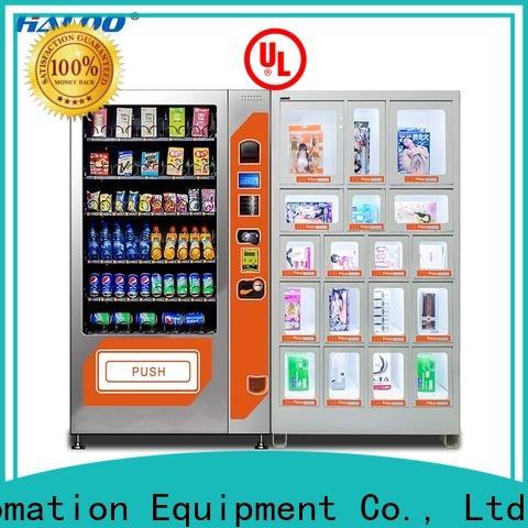 Haloo condom vending machine supplier for pleasure