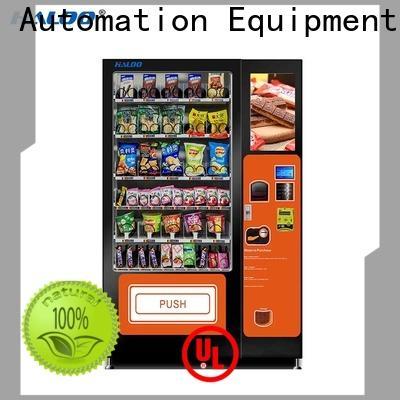 Haloo intelligent soda vending machine series for merchandise