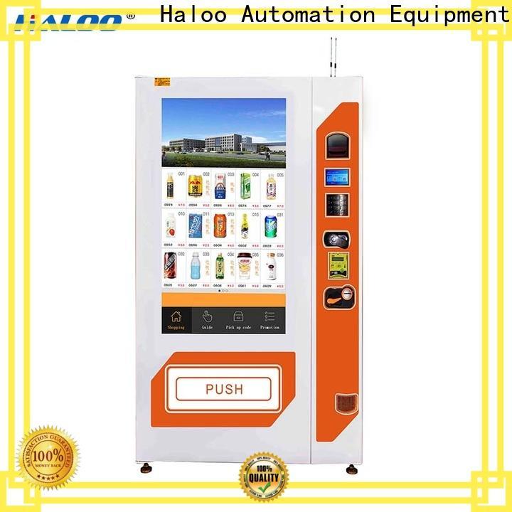 Haloo vending machine price manufacturer