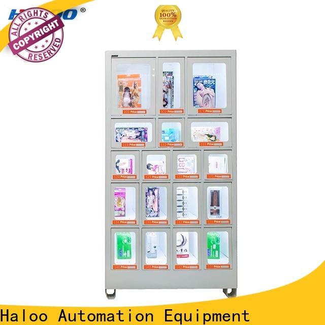 Haloo high capacity healthy vending machine snacks series for drinks