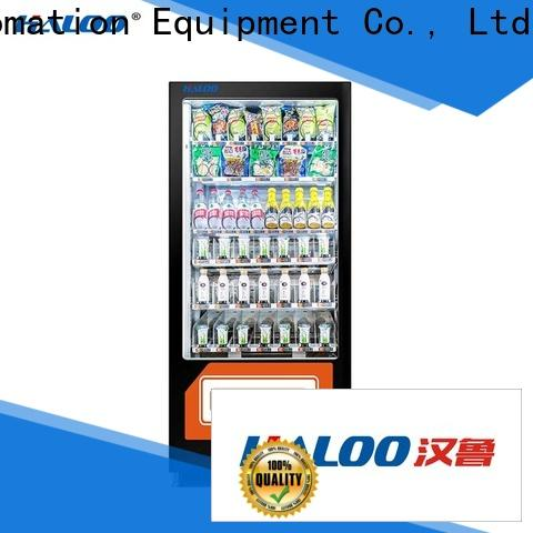 Haloo power-off protection food vending machines supplier for adult toys