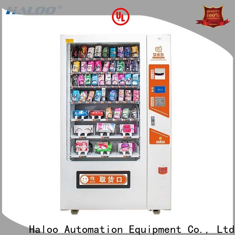 Haloo GPRS remote manage condom vending wholesale for adults