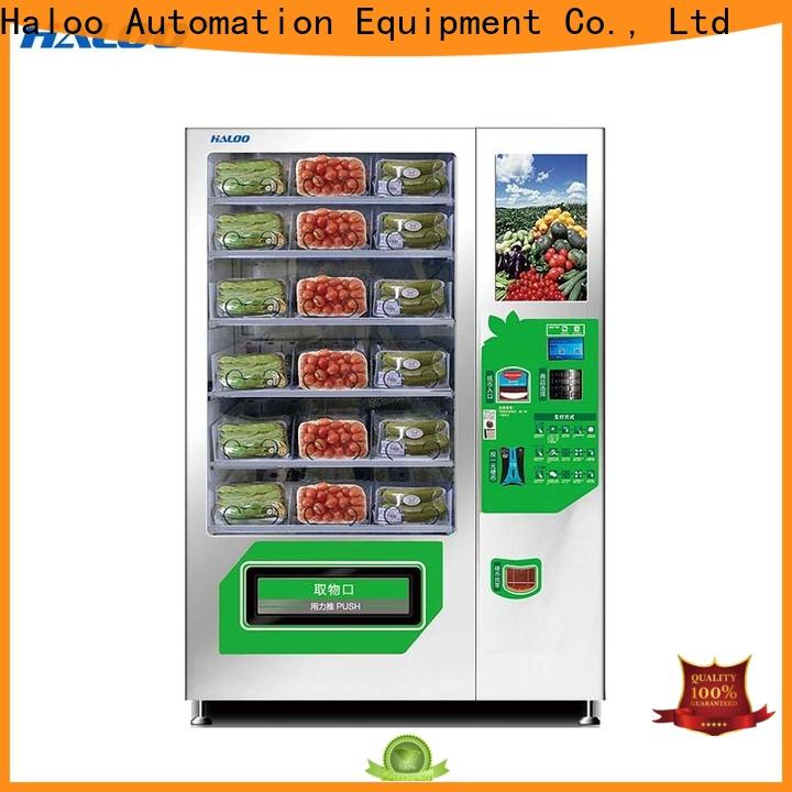 Haloo automatic cool vending machines design for drinks