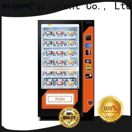 convenient fruit vending machine design for fragile goods