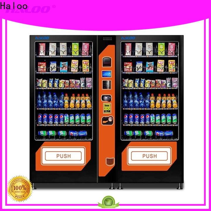 Haloo high-quality combo vending machines customized for drink