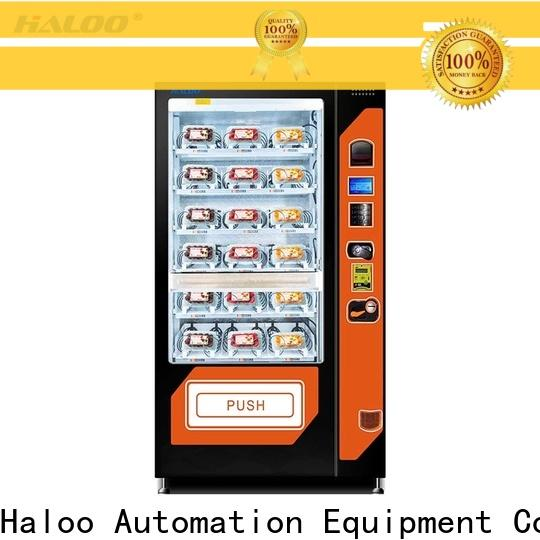 Haloo canteen vending factory for drinks