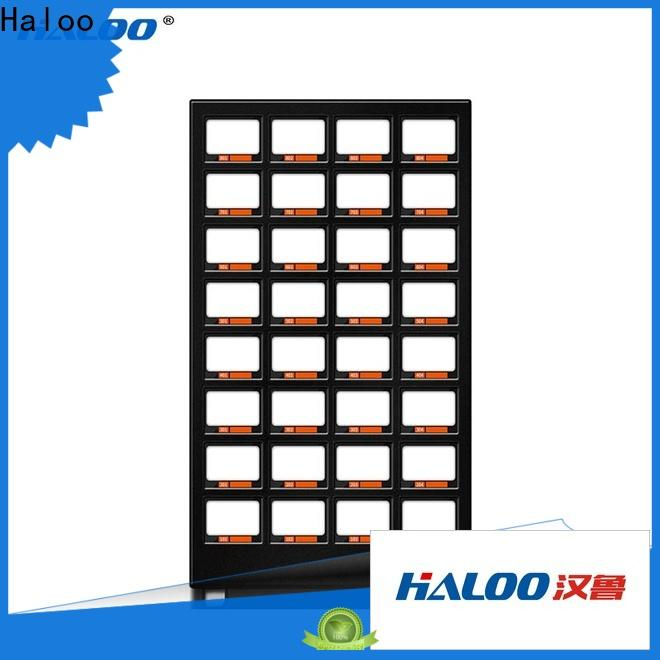 Haloo power-off protection food vending machines wholesale for drinks