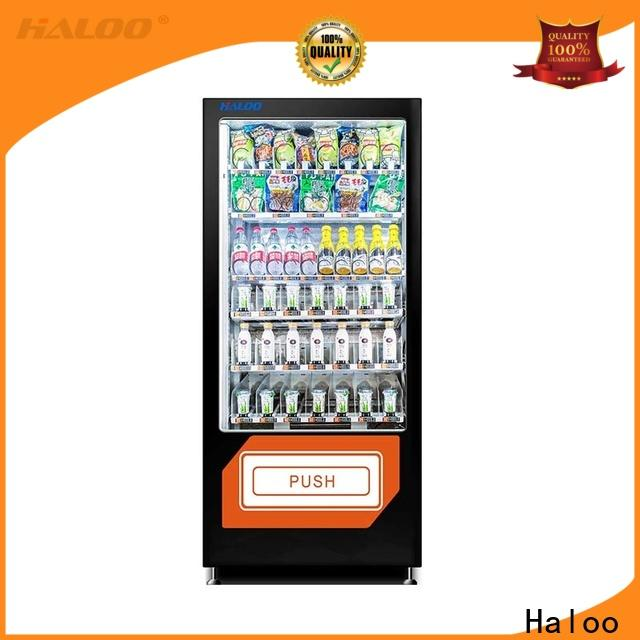 Haloo power-off protection candy vending machine supplier for drinks