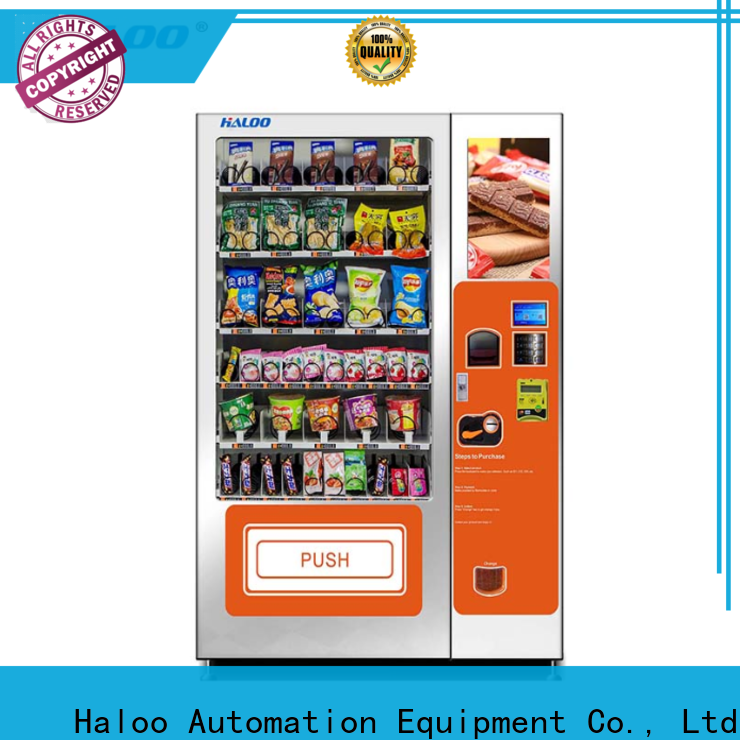latest combo vending machines customized for food
