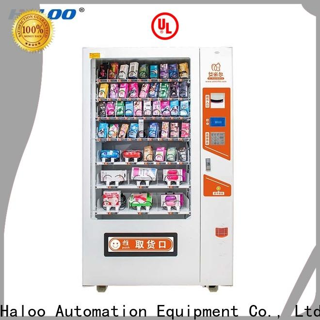 Haloo condom machine directly sale for adults