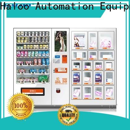 Haloo condom vending supplier for adults