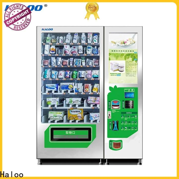 smart healthy vending machines series for shopping mall