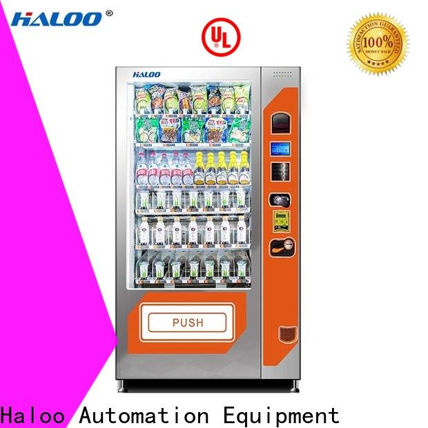 Haloo large capacity canteen vending wholesale for red wine
