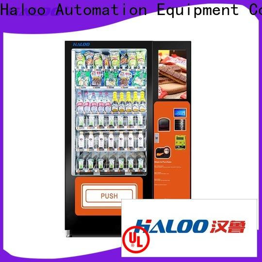 Haloo fruit vending machine factory for red wine