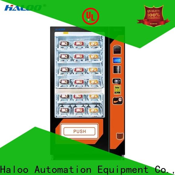 Haloo large capacity toy vending machine factory for drinks