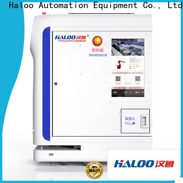 Haloo energy saving recycling machines customized for purchase